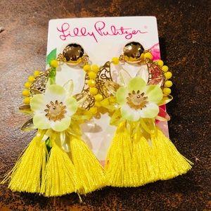 Lilly Pulitzer Capri Soleil Earrings NWT